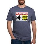 Standard Poodle T-Shirts Mens Tri-blend T-Shirt
