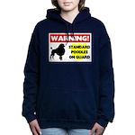 Standard Poodle T-Shirts Women's Hooded Sweats