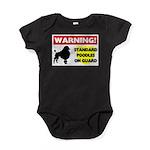 Standard Poodle T-Shirts Baby Bodysuit