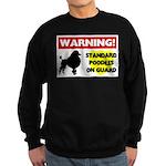 Standard Poodle T-Shirts Sweatshirt (dark)