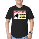 Standard Poodle T-Shirts Men's Fitted T-Shirt