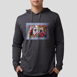 Tibetan Spaniel Mens Hooded Shirt