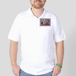 Tibetan Spaniel Polo Shirt