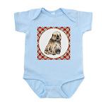Tibetan Terrier Baby Light Bodysuit