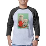 Toy Poodle T-Shirts Mens Baseball Tee