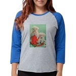 Toy Poodle T-Shirts Womens Baseball Tee