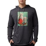 Toy Poodle T-Shirts Mens Hooded Shirt