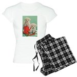 Toy Poodle T-Shirts Women's Light Pajamas