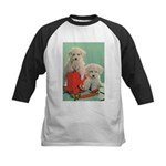 Toy Poodle T-Shirts Kids Baseball Tee