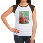 Toy Poodle T-Shirts Junior's Cap Sleeve T-Shir