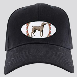 Weimaraner Gifts Black Cap with Patch