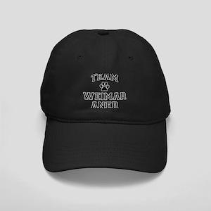 Team Weimaraner Black Cap with Patch