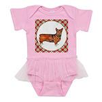 Welsh Corgi Gifts Baby Tutu Bodysuit