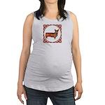 Welsh Corgi Gifts Maternity Tank Top