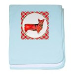 Welsh Corgi Gifts baby blanket