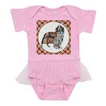 Welsh Springer Spaniel Baby Tutu Bodysuit