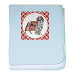 Welsh Springer Spaniel baby blanket