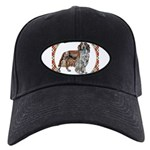 Welsh Springer Spaniel Black Cap with Patch