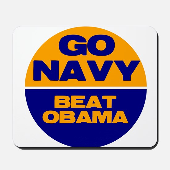 Go Navy Beat Obama Mousepad
