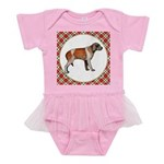 Wirehaired Pointing Griffon Baby Tutu Bodysuit