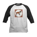 Wirehaired Pointing Griffon Kids Baseball Tee