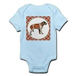 Wirehaired Pointing Griffon Baby Light Bodysuit