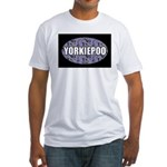 Yorkiepoo Gifts Fitted T-Shirt