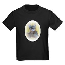 photo-vignette-abyssinian2 Kids Dark T-Shirt