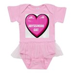 abyssinian-cat-FIN Baby Tutu Bodysuit
