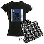 FIN-scaredy-cat Women's Dark Pajamas