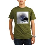 FIN-cat-moon-stars-1 Organic Men's T-Shirt (dark)