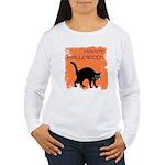 happy-halloween Women's Long Sleeve T-Shirt