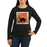 happy-halloween Women's Long Sleeve Dark T-Shirt