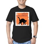 happy-halloween Men's Fitted T-Shirt (dark)