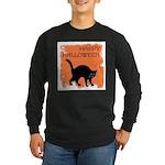 happy-halloween Long Sleeve Dark T-Shirt