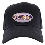 Calico Cat Gifts Black Cap with Patch