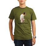 FIN-calico-cat-good Organic Men's T-Shirt (dark)