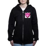 ginger-cat-FIN Women's Zip Hoodie