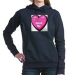 ginger-cat-FIN Women's Hooded Sweatshirt