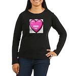 ginger-cat-FIN Women's Long Sleeve Dark T-Shirt
