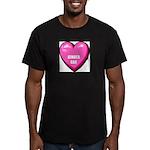ginger-cat-FIN Men's Fitted T-Shirt (dark)