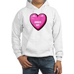 ginger-cat-FIN Hooded Sweatshirt