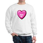 ginger-cat-FIN Sweatshirt