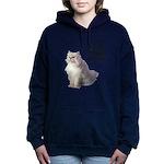 FIN-persian-cat-photo-meow Women's Hooded Sweatshi