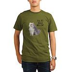 FIN-persian-cat-photo-meow Organic Men's T-Shirt (