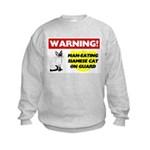 Siamese Cat Gifts Kids Sweatshirt