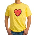 siamese-cat-FIN Yellow T-Shirt