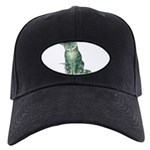 tabby-kitten-FIN Black Cap with Patch