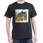 tabby-cat-1-FIN Dark T-Shirt