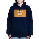FIN-hang-in-there-10x10.png Women's Hooded Sweatsh